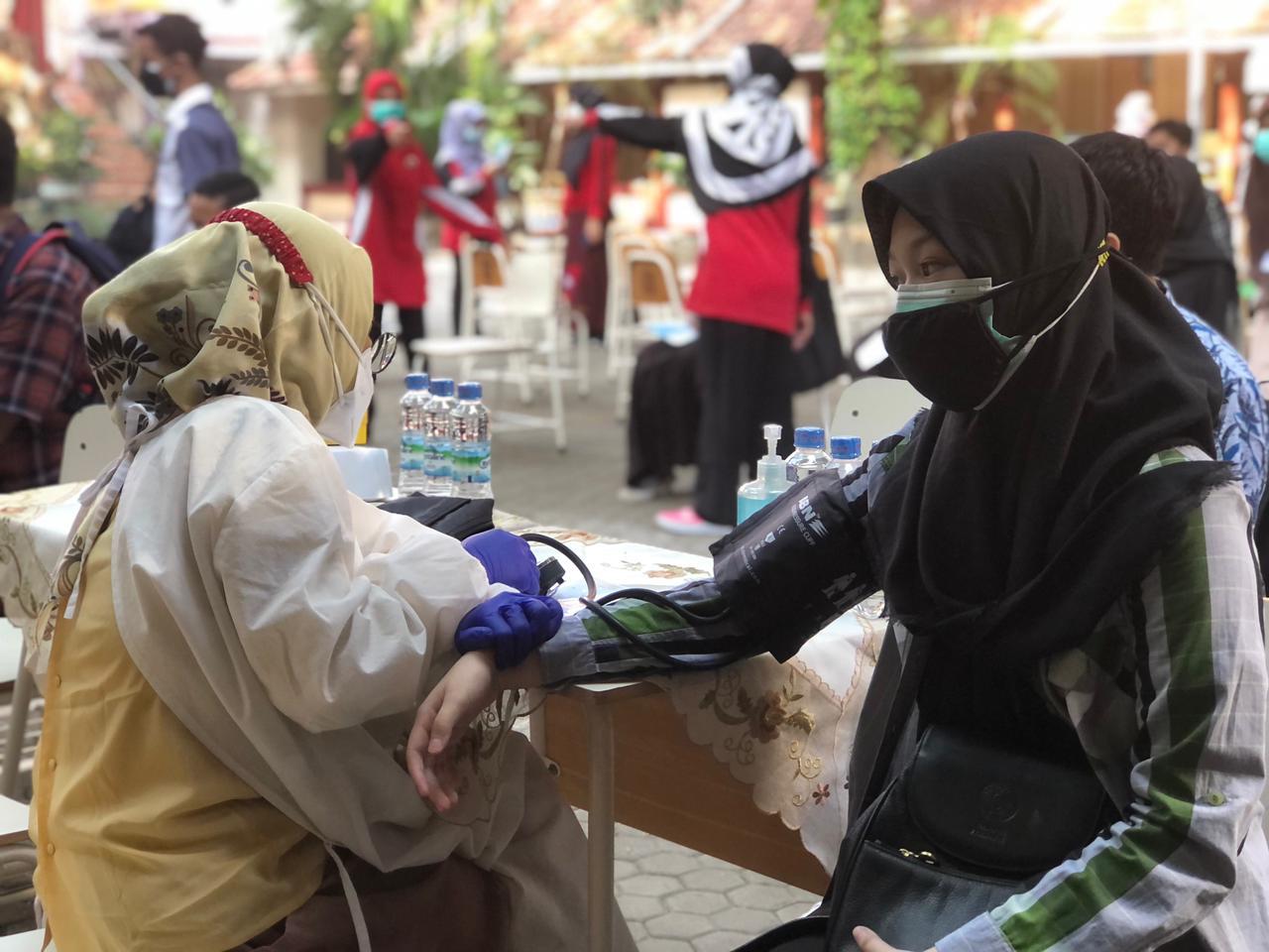 Vaksinasi Peserta Didik SMASA